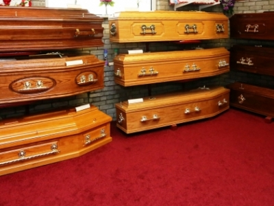Coffin Selection Room